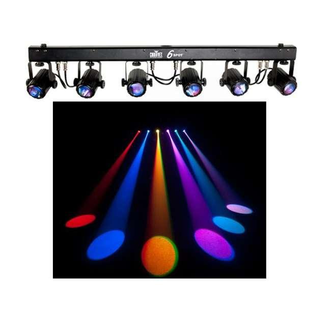 6-SPOT Chauvet 6-Spot LED Dance Effect Light Bar System | 6SPOT 2