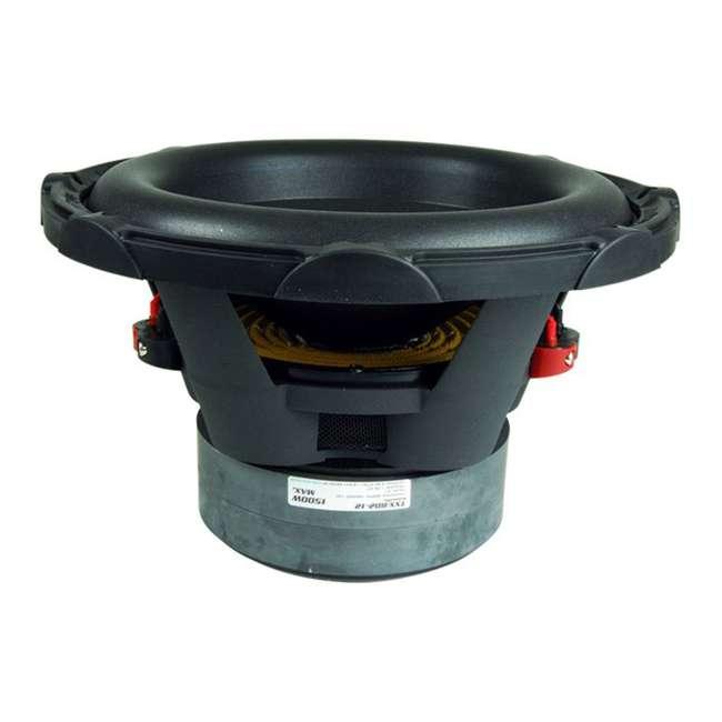 TXXBD212 2) Audiopipe TXX-BD2-12 12-Inch 4-Ohm DVC 3000W Subwoofers 2