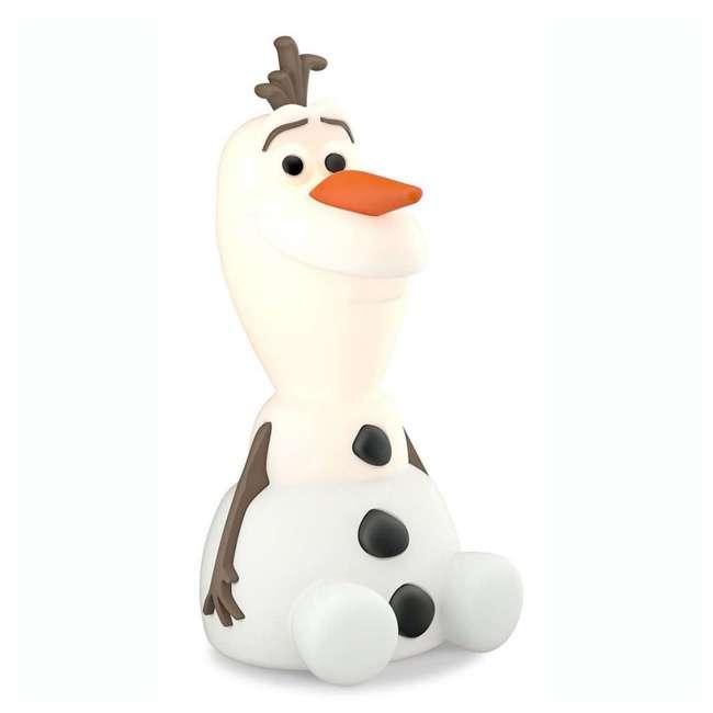 PLC-799965 + PLC-7176803U0 Philips Disney Frozen Olaf and Elsa Kids Soft Pals Nightlight Friend 3