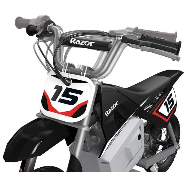 15128008 + 15128099 + 15128030 Razor MX400 Dirt Rocket 24V Electric Toy Motocross Motorcycle Dirt Bike (3 Pack) 9