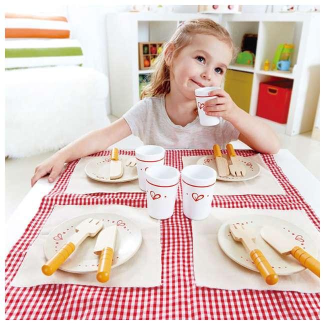 HAP-E3136 Hape Kids Wooden Lunch Time Picnic Play Set 4
