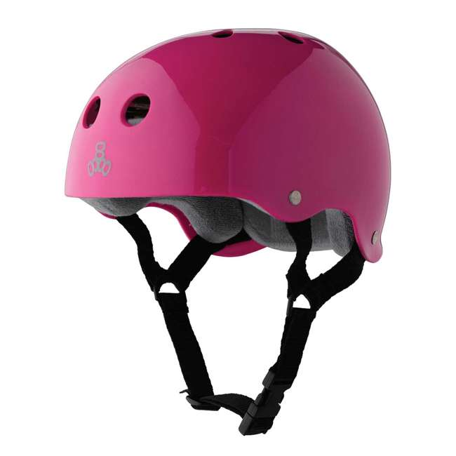 12 x T8-1285 Triple 8 Hardened Helmet with Sweatsaver Liner, X-Small (12 Pack) 1