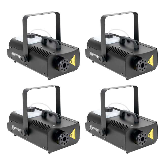 4 x VF1300 American DJ 1300 Watt Fog Machine (4 Pack)