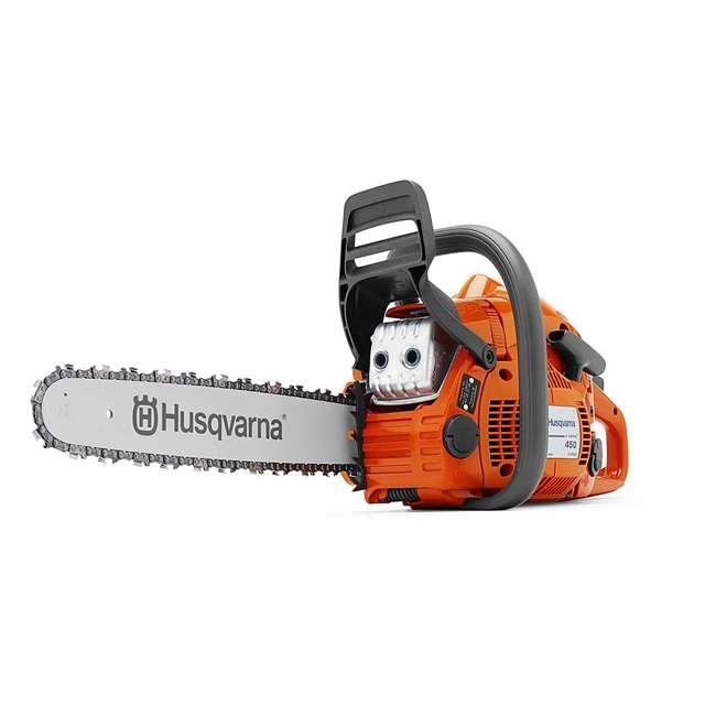 HV-CS-967651103 + HV-TOY-522771104 Husqvarna 450E 20 Inch Bar 50.2cc 3.2 HP Gas Chainsaw and 440 Kids Toy Chainsaw 1