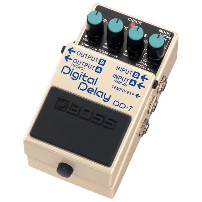 4 x DD-7 Boss DD-7 Digital Delay Effects Guitar and Bass Pedal (4 Pack) 4
