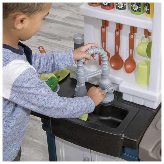 879799 Step2 Plastic Pretend Play Modern Metro Kitchen 4
