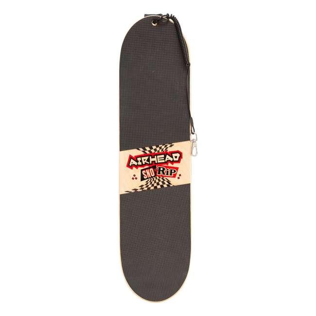 AHSS-04 Airhead AHSS-04 Snow Rip Hard Wood 31 Inch Snow Skate Skateboard Snowboard, Red 2