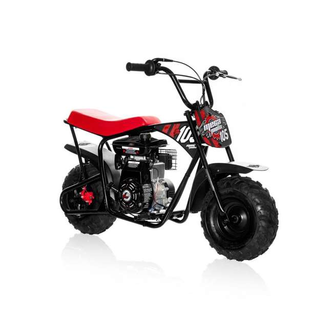 MM-B105 Monster Moto 105cc Gas-Powered Off-Road Mini Dirt Bike  2