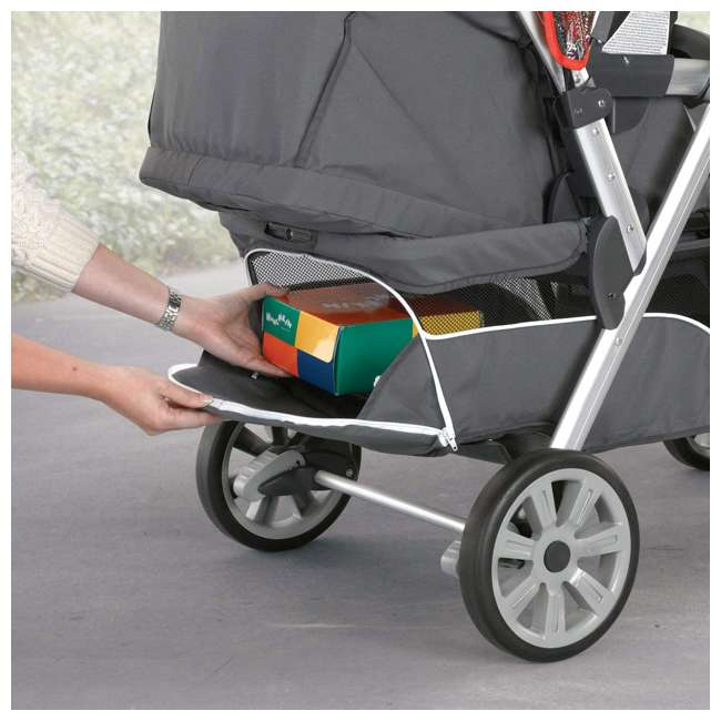 CHI-0807904302 Chicco Cortina Together Double Stroller, Minerale 1