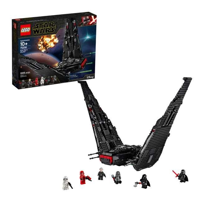 6251767 LEGO 75256 Kylo Ren's Shuttle Block Building Kit w/ 6 Star Wars IX Minifigures
