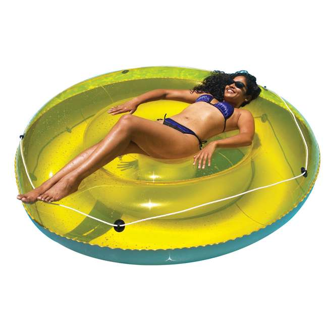 9050 Swimline 9050 Swimming Pool Sun Tan Lounger Island Float Inflatable 2