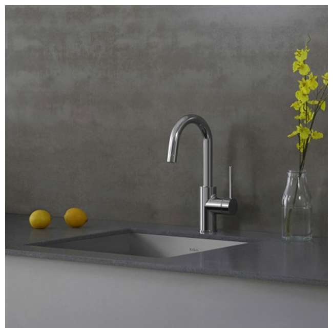 KPF-2600SFS-OB Kraus Oletto Kitchen Bar Faucet, Spot Free Stainless Steel (Open Box) 1