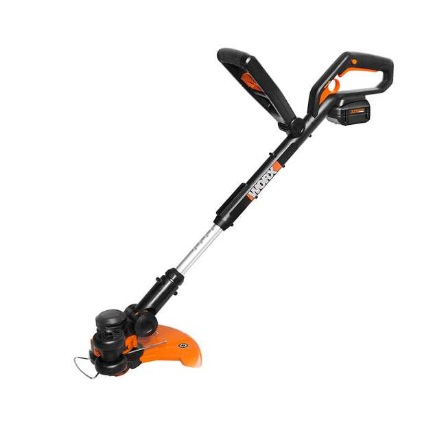 WG924.1 Worx Grass Trimmer and Air Blower Cordless Electric Combo Kit  1