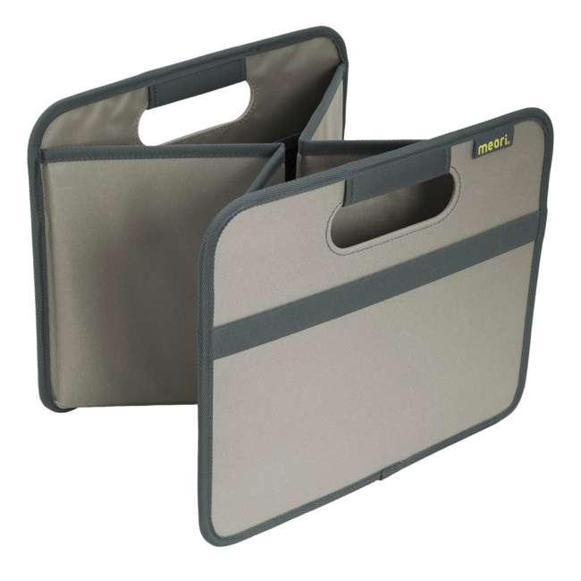 A100028 + A100198 Meori Classic Collection 4 & 6.5-Gallon Foldable Box, Stone Gray 8