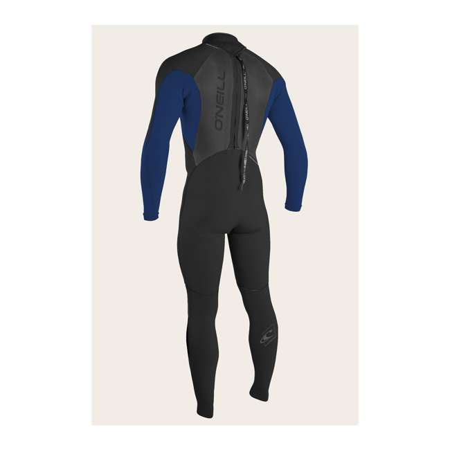 4212-G45-L O'Neill Epic 4/3 MM Thick Back Zip Full Body Wetsuit, Medium 1