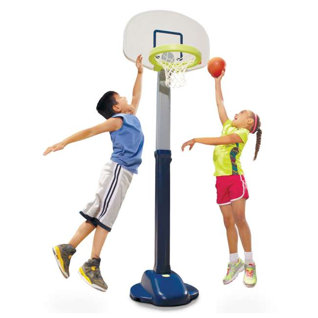 638206M Little Tikes Adjust 'n Jam Pro Basketball Hoop Toy  (2 Pack) 2