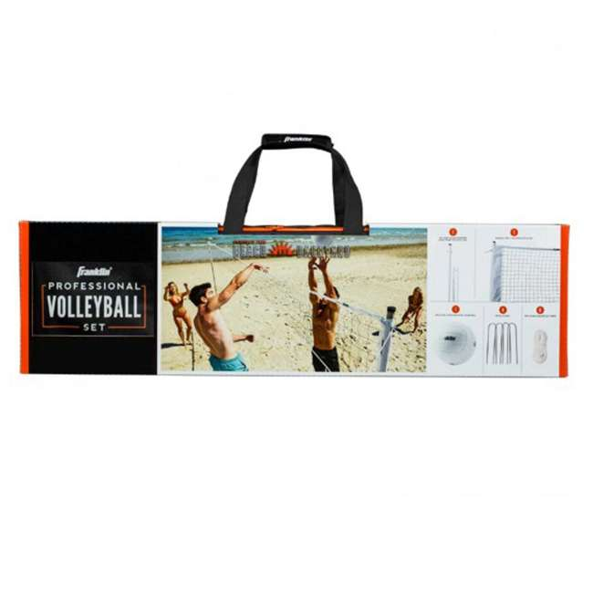 52642 Franklin Sports Professional Volleyball Game Set 1