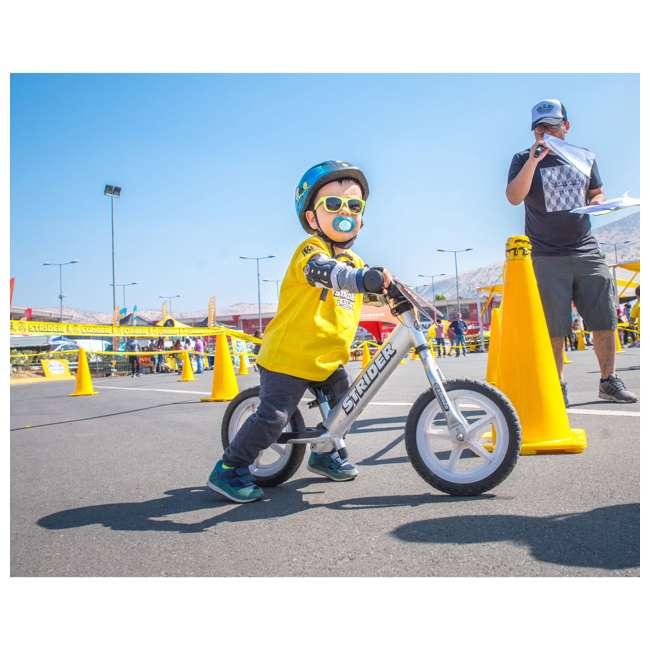430982cb16ee Strider 12 Pro Kids Balance Bike, Silver