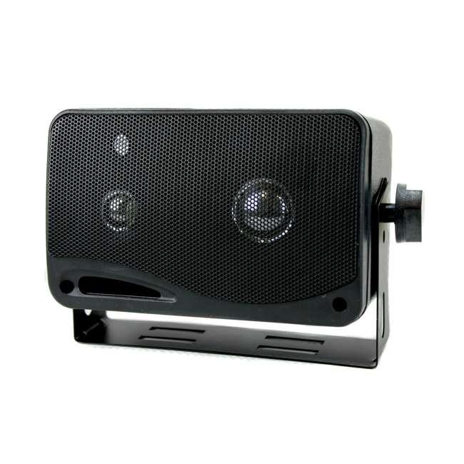 2022SX Pyramid 2022SX 3-Way 200W Mini Box Speakers (Pair) 1
