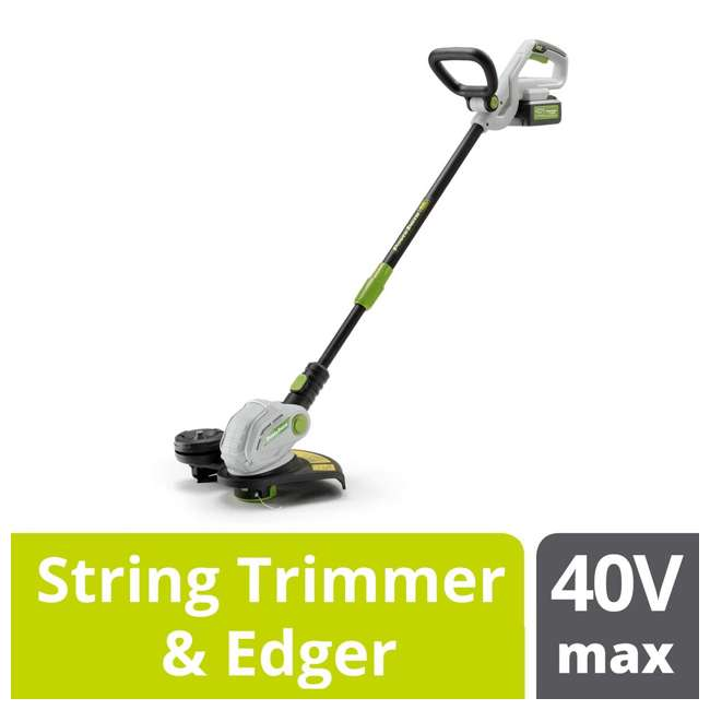 PBL140JH + PGT140 PowerSmith 120 MPH Leaf Blower + String Trimmer and Edger 9