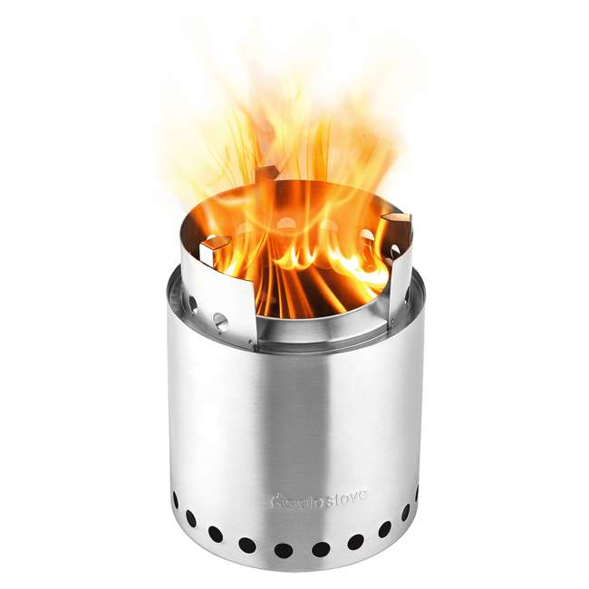 SSCF Solo Stove Campfire Portable Outdoor Wood Burning Camping Backpacking Camp Stove 1
