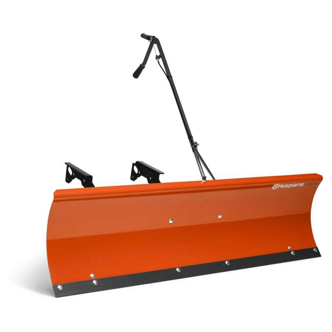 HV-PA-588181302-U-B Husqvarna 48 Inch Tex-Style Lawn Tractor Frame Snow Dozer Plow Blade (Used)