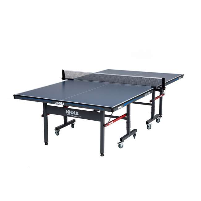 SS-11110 Joola 11110 Tour 1800 Indoor 18mm Folding Table Tennis Table with Net Set, Blue