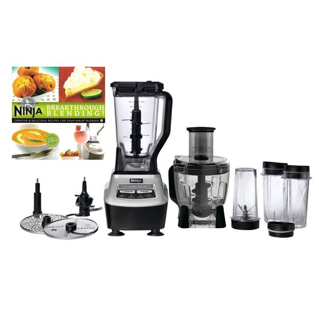 BL773CO_EGB-RB + XPB600W Ninja Blender Package with Cookbook (Certified Refurbished)
