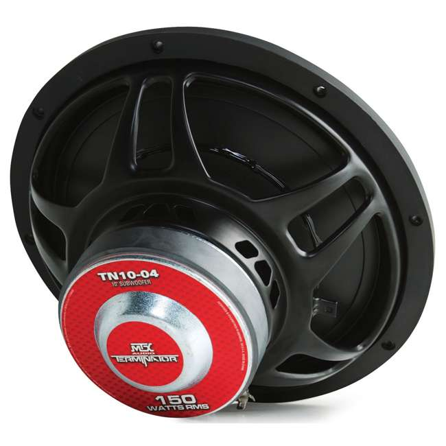 TN10-04 Mtx Audio 10-Inch 300W Power Subwoofer TN1004 3