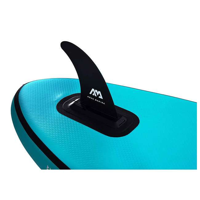 SUP-AM-PADDLEBOARD-VAPOR Aqua Marina Vapor 9.8 Foot Inflatable SUP Stand Up Paddle Board Kit with Pump 10