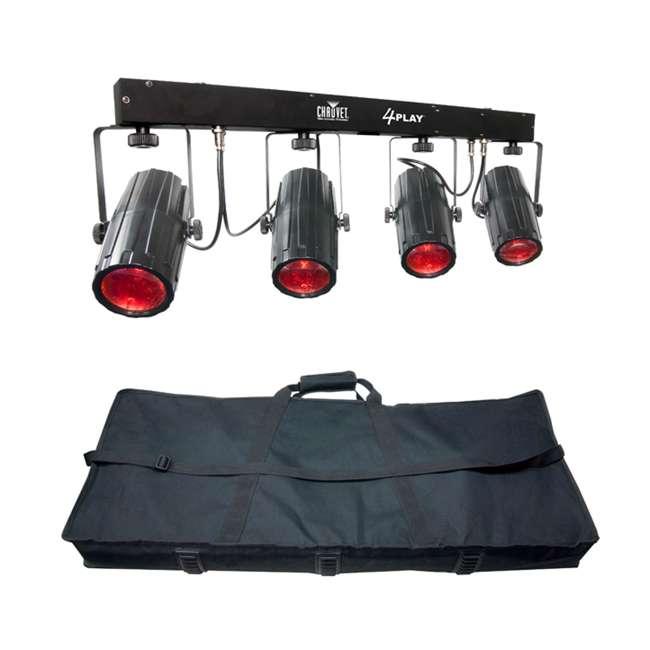 4 x 4PLAY Chauvet 4PLAY LED DMX Light Beam Bar System (4 Pack) 1