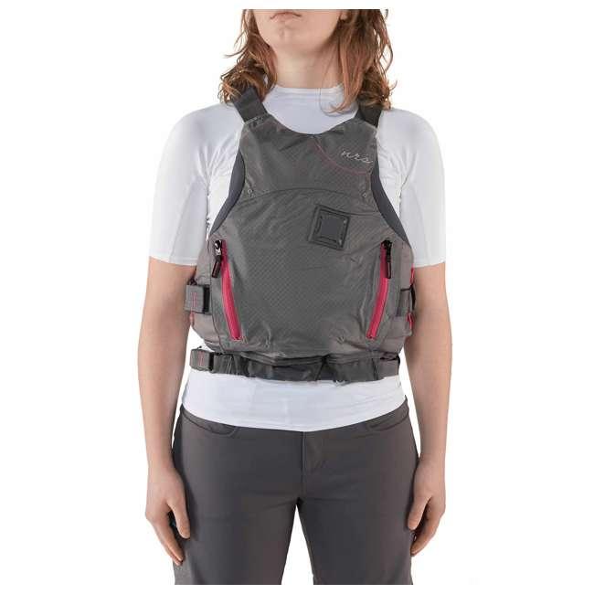 NRS_40036_02_102 NRS Adult Women's Siren PFD Life Jacket Vest, Charcoal, L/XL 4