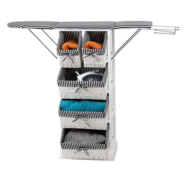 NX-905 Whitmor 38-Inch Collapsible Ironing Board and Laundry Station