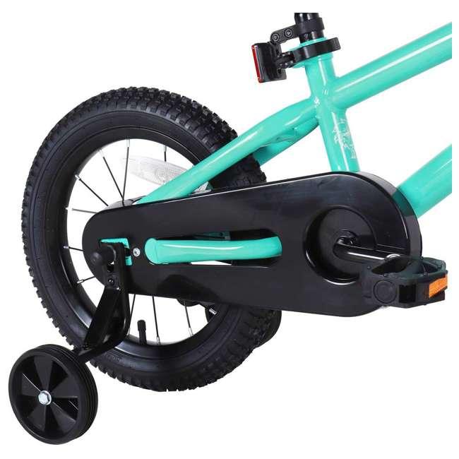 BIKE016gr-16 JOYSTAR Totem Series 16-Inch Kids Bike with Training Wheels & Kickstand, Green 4