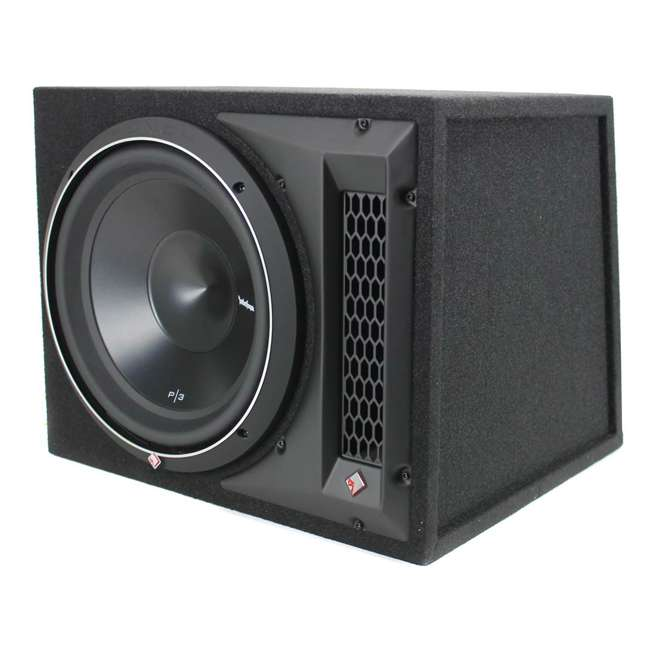 P3-1X12 Rockford Fosgate P3-1X12 12-Inch 1200W Single Loaded Subwoofer Enclosure 1