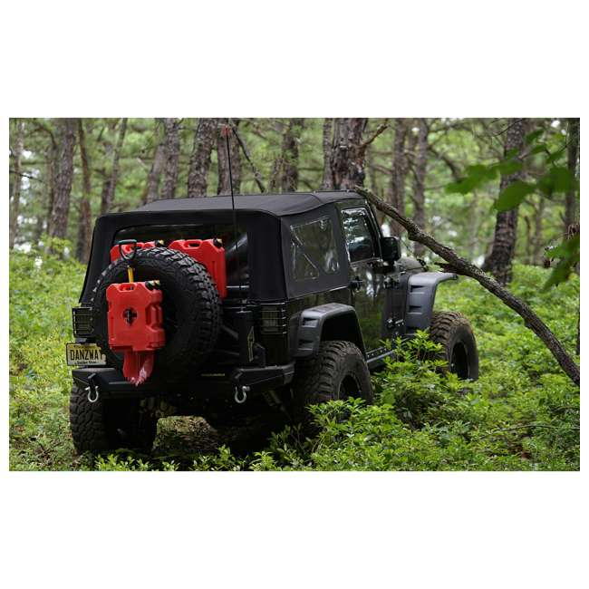 MTX02SO + RX-2G MAXTRAX MKII Vehicle Recovery & Extraction Device + 2-Gallon Gasoline Container 5