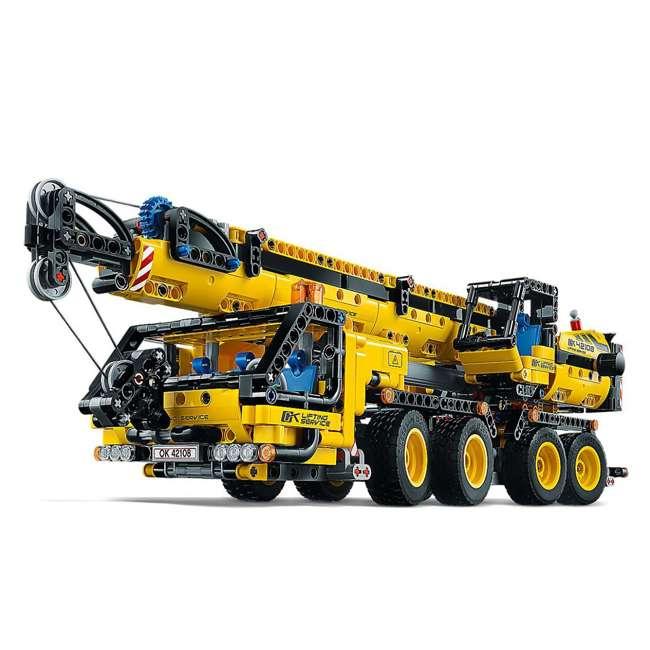 6288778 LEGO Technic 42108 Mobile Construction Crane Vehicle 1292 Piece Building Set 2