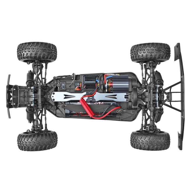 BLACKOUT-SC-BLUE Redcat Blackout SC Brushed Electric RC Short Course Truck 7