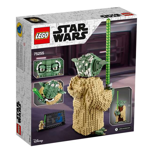 6251762 LEGO Star Wars 75255 Yoda 1771 Piece Block Building Kit w/ 1 minifigure 2