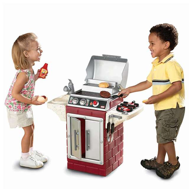 624483X1 Little Tikes Backyard Barbecue Get Out 'N' Grill Set 1
