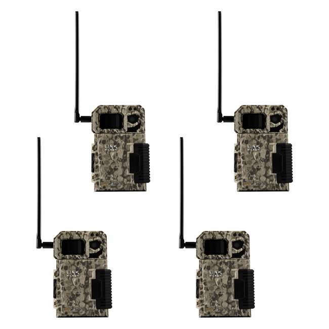 MICROUS - 4PK SPYPOINT LINK MICRO Nationwide 4G Cellular Hunting Trail Game Camera (4 Pack)