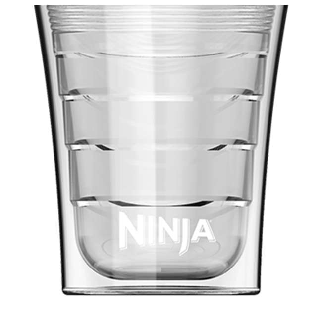 4 x CF14HOMEW Ninja 14 Oz Plastic Insulated Cup for Coffee Bar Specialty Drinks (4 Pack) 3