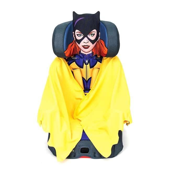 KE-3001BTG Kids Embrace Combination 2 in 1 Booster Forward Facing Car Seat, DC BatGirl 1