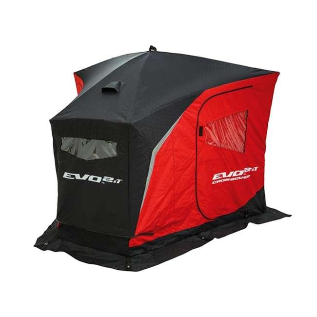ESK-25502 Eskimo 25502 Evo 2iT 2-Person Portable Ice Fishing Shelter & Sled