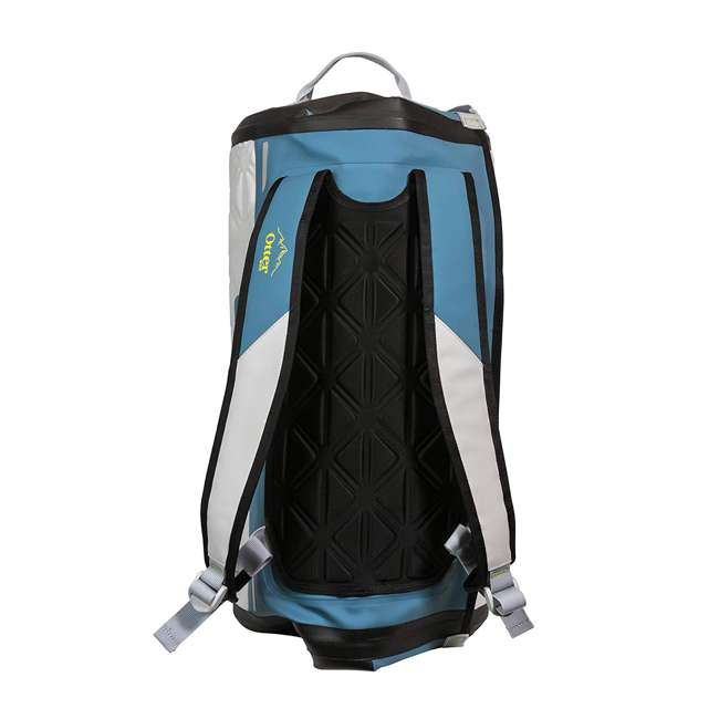 77-57794 Yampa 35 Liter Dry Duffle Waterproof Backpack Bag, Hazy Harbor Gray and Blue 1