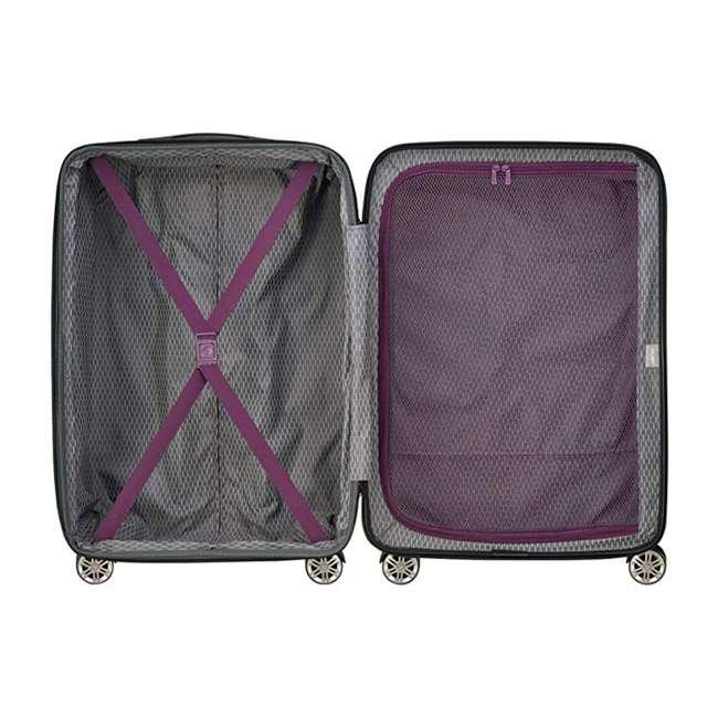 40386582008 DELSEY Paris Comete 2.0 24-Inch Expandable Spinner Upright Travel Bag, Purple 4