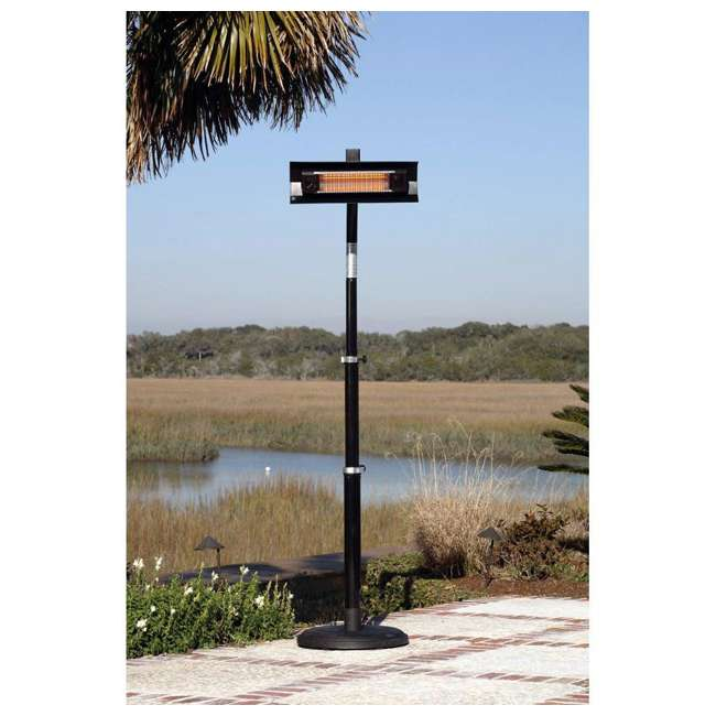 02678 Fire Sense Telescoping Pole Mounted Infrared Patio Heater 2