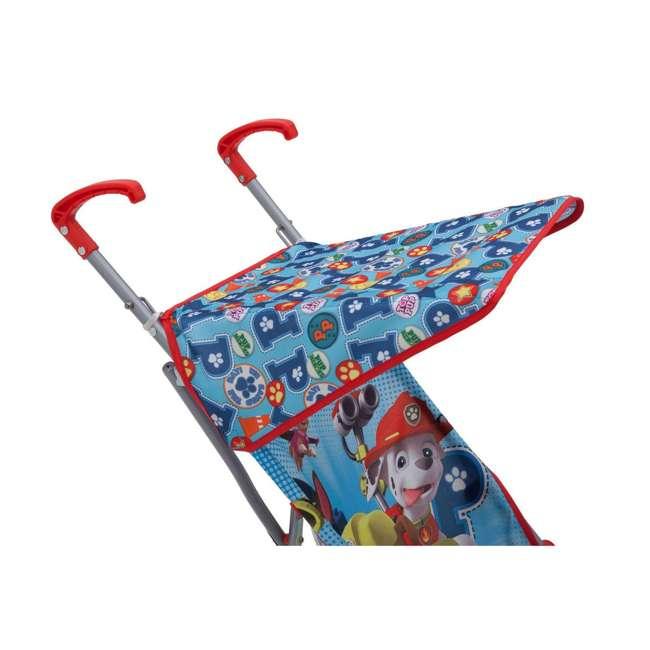 11021-637 Nickelodeon Paw Patrol Lightweight Travel Umbrella 3 Point Harness Baby Stroller 5