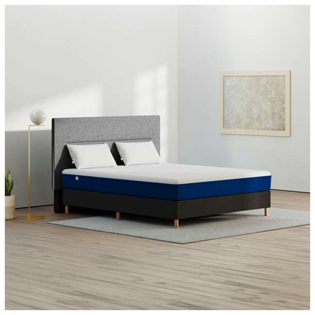 AS1-TXL Amerisleep AS1 Back and Stomach Sleeper Firm Memory Foam Bed Mattress, Twin XL 3