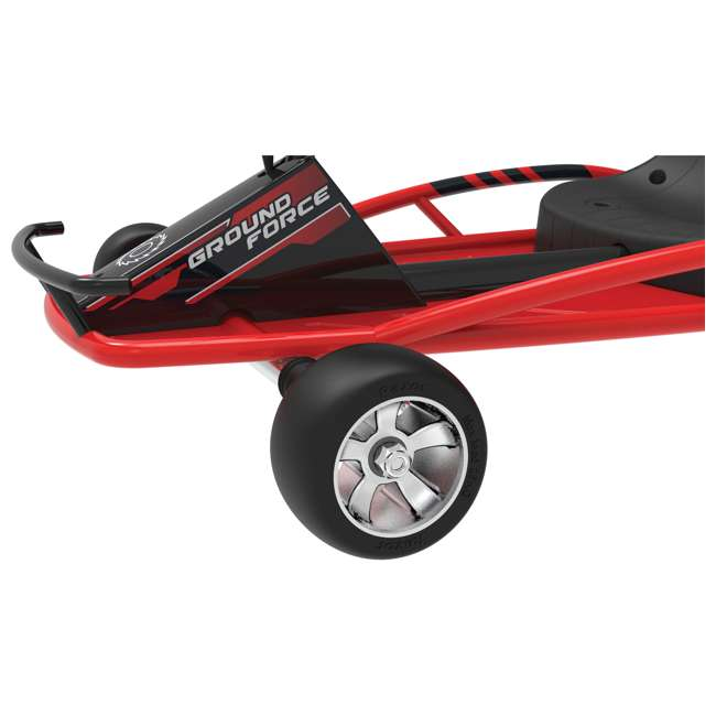 25141058-U-C Razor Ground Force 24V Electric Go Kart, up to 12 MPH, Red (For Parts) 3